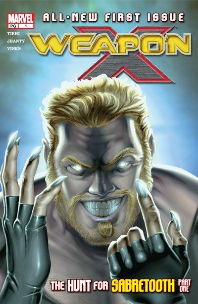 Weapon X Vol. 1 #0.5 – 28 + TPB (2002-2004)