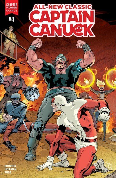 All New Classic Captain Canuck #4 (2017)