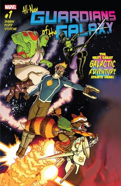 All-New Guardians of the Galaxy #1 – 12 + TPBs (2017)