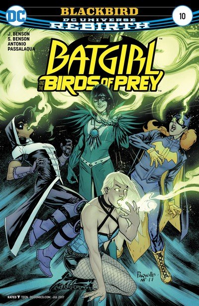 Batgirl and the Birds of Prey #10 (2017)