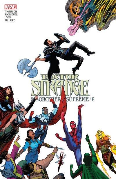 Doctor Strange and the Sorcerers Supreme #8 (2017)