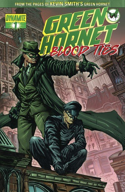 Green Hornet – Blood Ties #1 – 4 (2010-2011)