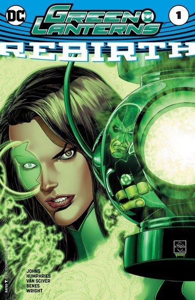 Green Lanterns – Rebirth #1 + #1 – 23 (2016-2017)