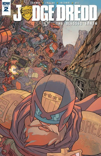 Judge Dredd – The Blessed Earth #2 (2017)