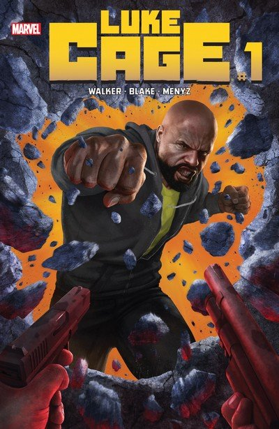 Luke Cage #1 – 5 + 166 – 170 (2017-2018)