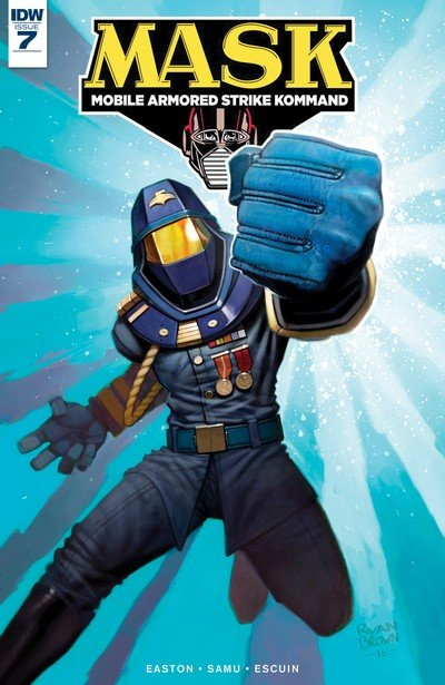 M.A.S.K. – Mobile Armored Strike Kommand #7 (2017)