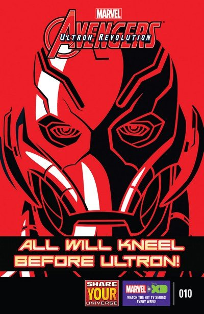Marvel Universe Avengers – Ultron Revolution #10 (2017)