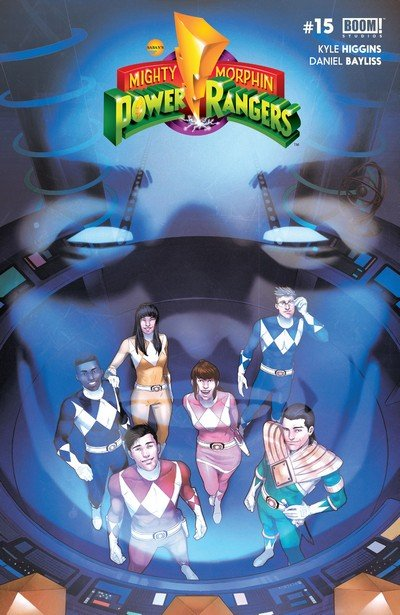 Mighty Morphin Power Rangers #15 (2017)