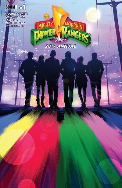 Mighty Morphin Power Rangers Annual 2017