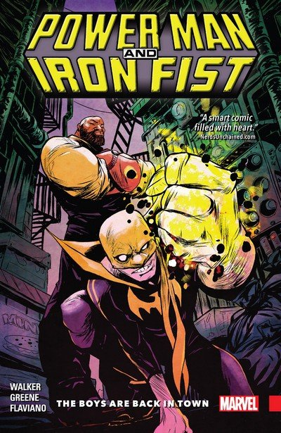 Power Man and Iron Fist Vol. 1 – The Boys are Back in Town (TPB) (2016)