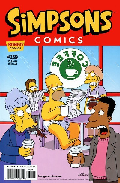 Simpsons Comics #239 (2017)