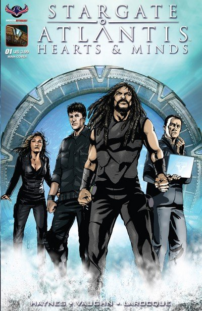 Stargate Atlantis – Hearts & Minds #1 (2017)