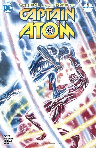 The Fall and Rise of Captain Atom #5 (2017)
