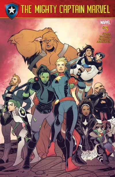 The Mighty Captain Marvel #5 (2017)