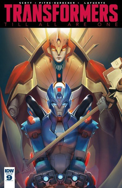 Transformers Till All Are One #9 (2017)