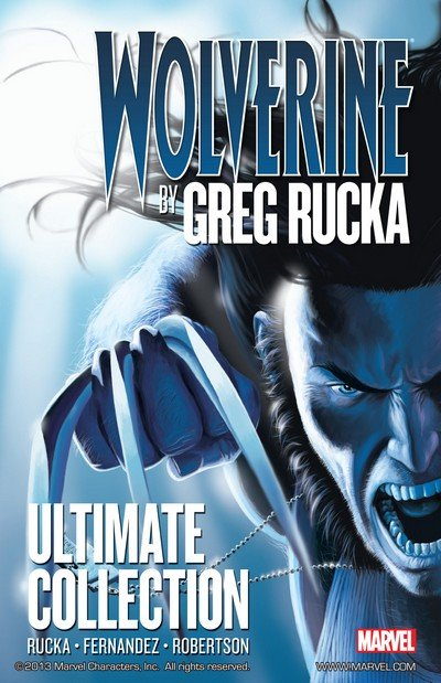 Wolverine By Greg Rucka Ultimate Collection Vol. 1 (2011)