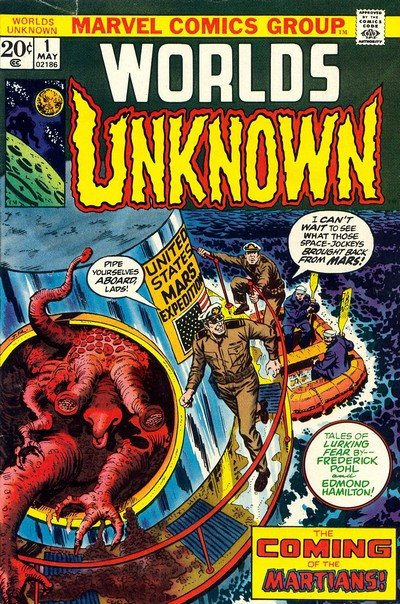 Worlds Unknown #1 – 8 (1973-1974)
