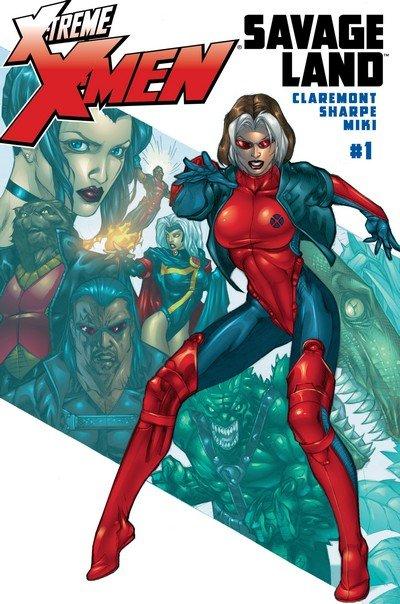 X-Treme X-Men – The Savage Land #1 – 4 (2001-2002)