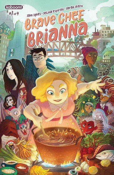 Brave Chef Brianna #1 – 4 (2017)