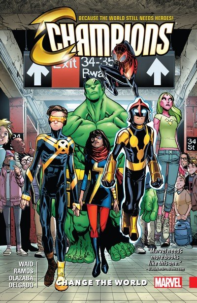 Champions Vol. 1 – Change The World (2017)