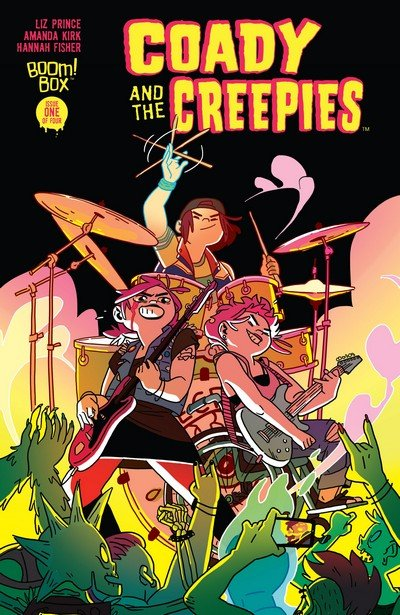 Coady and the Creepies #1 – 4 (2017)