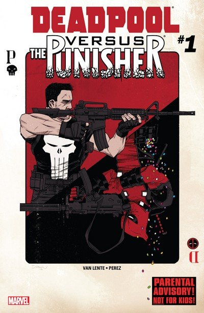 Deadpool vs. The Punisher #1 – 5 + TPB (2017)