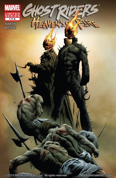 Ghost Riders – Heaven's on Fire #1 – 6 (2009-2010)