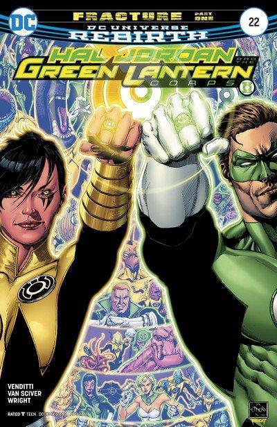 Hal Jordan and the Green Lantern Corps #22 (2017)