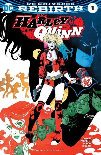 Harley Quinn Vol. 3 #1 – 22 (Rebirth) (2016-2017)