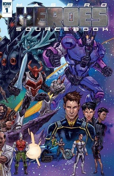 Hasbro Heroes Sourcebook #1 (2017)