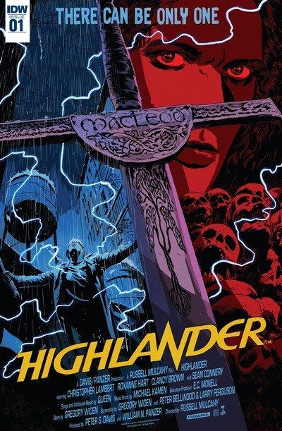 Highlander – The American Dream #1 – 5 (2017)