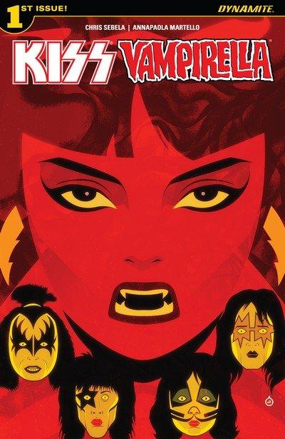 Kiss – Vampirella #1 (2017)