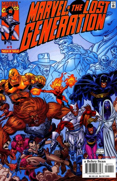 Marvel – The Lost Generation #12 – 1 (2000-2001)
