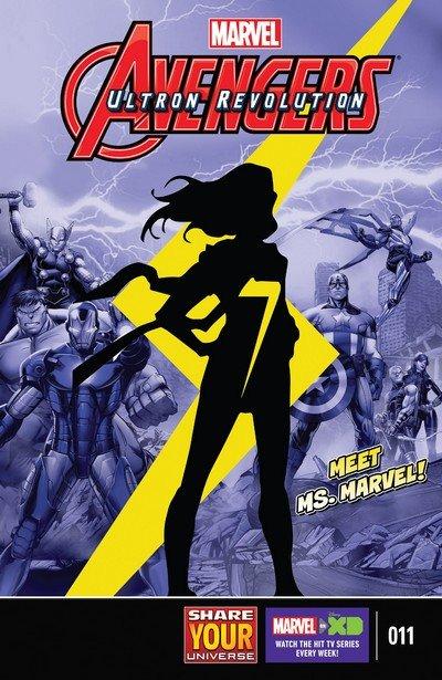 Marvel Universe Avengers – Ultron Revolution #11 (2017)