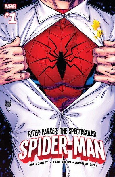Peter Parker – The Spectacular Spider-Man #1 – 6 + 297 – 313 + TPBs (2017-2019)