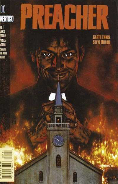 Preacher #1 – 66 + Extras (Fan Edit) (1995-2000)