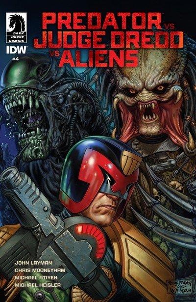 Predator vs. Judge Dredd vs. Aliens #4 (2017)