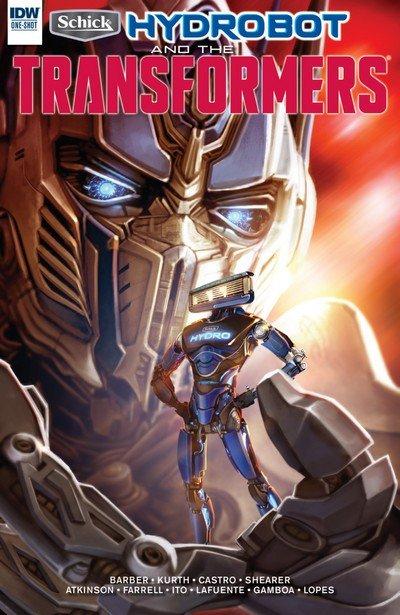 Schick Hydrobot & the Transformers – A New Friend #1 (2017)