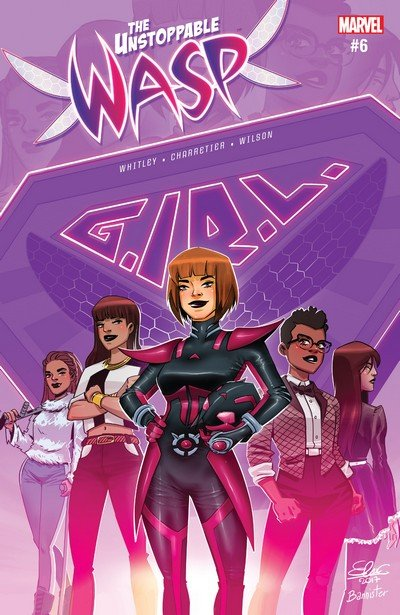 The Unstoppable Wasp #6 (2017)