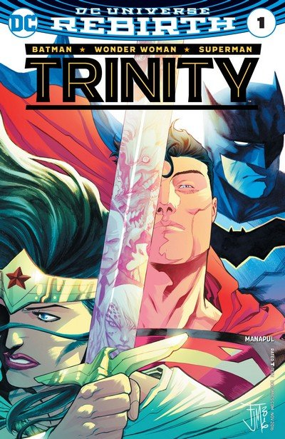 Trinity Vol. 2 #1 – 10 + Annual (Rebirth) (2016-2017)
