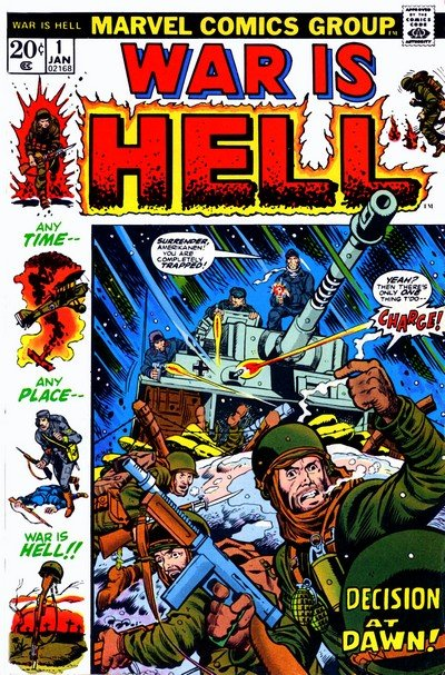War is Hell #1 – 15 (1973-1975)