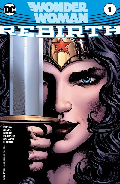 Wonder Woman – Rebirth #1 + #1 – 23 + Annual #1 (2016-2017)