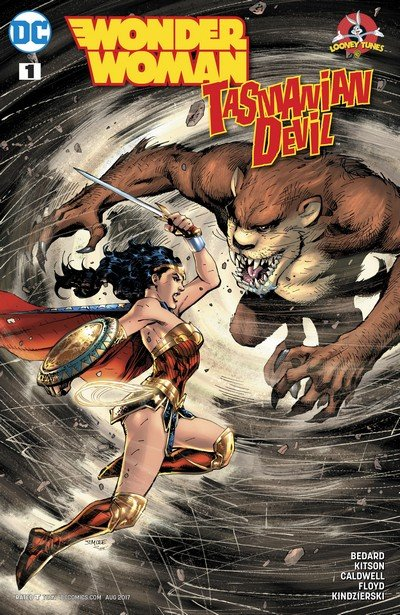 Wonder Woman-Tasmanian Devil Special #1 (2017)