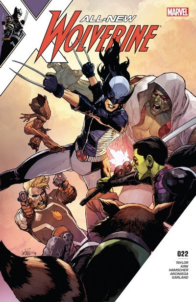 All-New Wolverine #22 (2017)