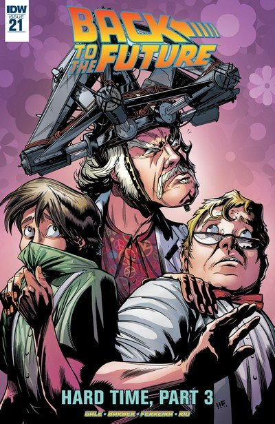 Back to the Future #21 (2017)