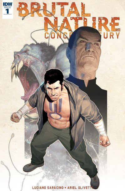 Brutal Nature – Concrete Fury #1 – 5 (2017)