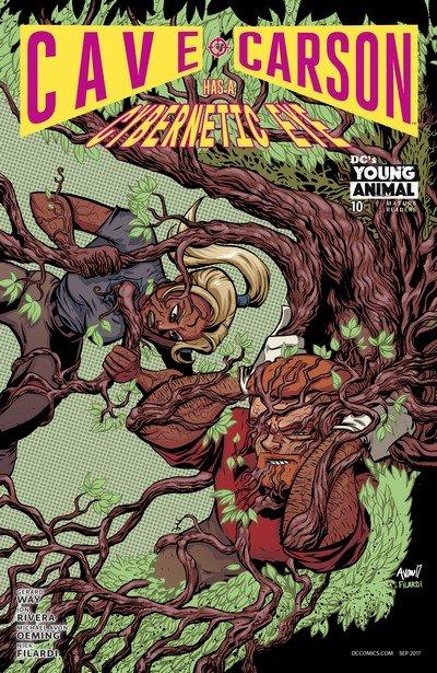 Cave Carson Has a Cybernetic Eye #10 (2017)