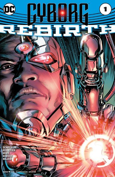 Cyborg Vol. 2 Rebirth #1 + #1 – 14 (2016-2017)