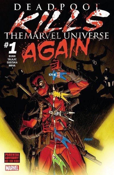 Deadpool Kills the Marvel Universe Again #1 – 5 (2017)