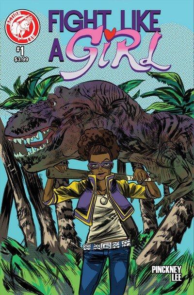 Fight Like a Girl #1 – 4 + TPB (2014-2015)